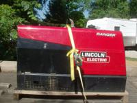 For Sale is a 2012 Lincoln Welder Model 305D.... Kubota
