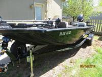 17.5 foot boat. 2012 Lowe 175 Stinger and Trailer bass