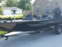 2012 Lowe Stinger 175:17.5ft, 60 4Stroke Merc, MinnKota