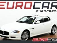 FEATURES: 2012 MASERATI QUATTROPORTE S ONLY 146 MILES