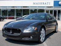 This 2012 Maserati Quattroporte S is offered to you for