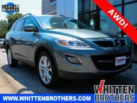 CARFAX One-Owner. Clean CARFAX. Green 2012 Mazda CX-9