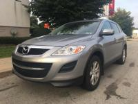 Recent Arrival! Liquid Silver Metallic 2012 Mazda CX-9