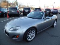 This 2012 Mazda MX-5 Miata Grand Touring is proudly