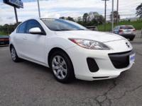 2012 Mazda 3 i Sport sedan that is a MAZDA CERTIFIED