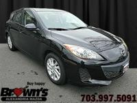 With this 2012 Mazda3 Grand Touring Hatchback you will