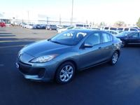This 2012 Mazda Mazda3 i Sport includes a CD changer