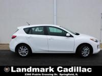Meet our impressive 2012 Mazda3 i Touring Hatchback