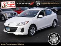 Options:  2012 Mazda Mazda3 4Dr Sdn Auto I Touring *Ltd