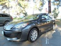 Options:  2012 Mazda Mazda3 I Touring 4Dr Sedan