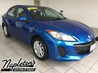 Recent Arrival! 2012 Mazda Mazda3 in Blue, LOCAL TRADE.