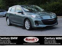 1 Owner, Clean Carfax! This 2012 Mazda Mazda3 s Grand