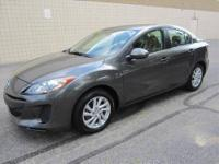 CHECK OUT THIS SUPER SHARP SPACIOUS 4-dr 2012 MAZDA-3