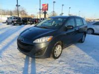 This 2012 Mazda 5 is a compact minivan offered in Sport