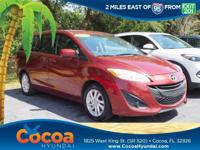 This 2012 Mazda Mazda5 Sport in Red features: Recent