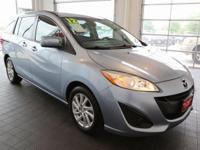 Options:  2012 Mazda Mazda5 Sport|Blue|**Clean