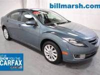 Mazda6 i, Blue, ABS brakes, Air Conditioning, Alloy