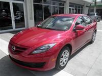 Leatherette seats. Mazda6 i Sport, Mazda Certified,