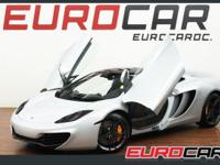 FEATURED: 2012 MCLAREN MP4-12C ORIGINIAL MSRP: $267,715