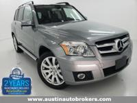 This 2012 Mercedes-Benz GLK350 is CERTIFIED Pre- Owned