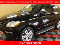 WOW! SUPER LOW MILE 2012 MERCEDES ML350 4MATIC AWD 3.5L