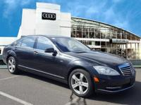 This Economy Certified 2012 Mercedes-Benz S-Class S 550