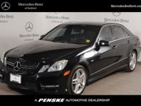 LOW MILES - 68,725! E 550 Sport trim, Black exterior