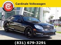 Clean Carfax, Low Miles, and Gas Saver. C250, 2D Coupe,