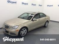 LOW MILES - 60,590! C 250 Luxury trim. JUST REPRICED