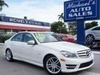 Options:  2012 Mercedes-Benz C-Class C250|White|**99