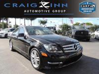 New Arrival! LOW MILES, This 2012 Mercedes-Benz C-Class