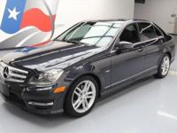 2012 Mercedes-Benz C-Class with 1.8L Turbocharged I4