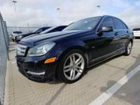 Check out this gently-used 2012 Mercedes-Benz C-Class