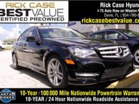 2012 Mercedes-Benz C-Class C250 in Black. Caution: may