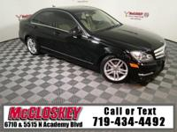 Sporty and equipped 2012 Mercedes-Benz C-300 w/ 4Matic,