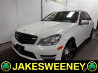 Our 2012 Mercedes-Benz C300 4MATIC Sedan is elegant and