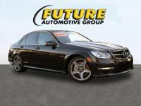 Look at this 2012 Mercedes-Benz C-Class C63 AMG. Its