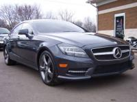 2012 Mercedes-Benz CLS550 Launch Edition. Steel Gray