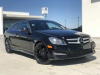 2012 Mercedes-Benz C-Class C 250 RWD 7-Speed Automatic