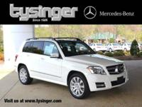 GLK350 4MATIC nicely equipped with a combination of