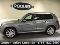 This 1 owner lease return Gray GLK 350 4 Matic has a