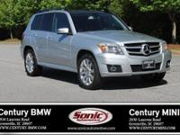 Clean Carfax, This 2012 Mercedes Benz GLK 350 is Silver