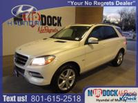 White 2012 Mercedes-Benz M-Class ML350 4MATIC 4MATIC