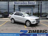 Options:  2012 Mercedes M-Class 4Matic 4Dr Ml