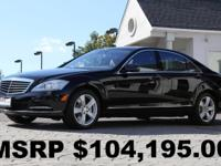 2012 Mercedes-Benz S550 4Matic Black Exterior with