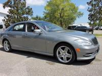 This 2012 Mercedes-Benz S-Class S350 is finished in