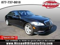 Come see this 2012 Mercedes-Benz S-Class S 550. Its