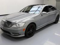 This awesome 2012 Mercedes-Benz S-Class comes loaded