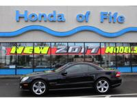 LOW MILES; This 2012 Mercedes-Benz SL-Class SL550 will
