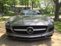 2012 Mercedes-Benz SLS AMG Roadster Metal Gray